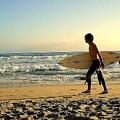 Surfer by Claudia Sanchez