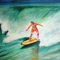 Surfer Dude by Patricia Piffath