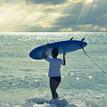 Surfer Girl by Laura Fasulo