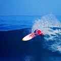 Surfer Glenn Hall - Nbr 1 by Scott Cameron