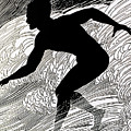 Surfer by Hawaiian Legacy Archive - Printscapes