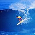 Surfer Mitch Crews by Scott Cameron