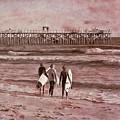 Surfers Three by Deborah Benoit