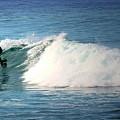 Surfing Asilomar by Joyce Dickens
