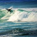 Surfing Asilomar Two by Joyce Dickens