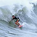 Surfing Bogue Banks 3 by John Wijsman