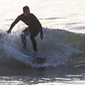 Surfing Narragansett by Steven Natanson