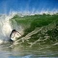 Surfing The Winter Atlantic by Dianne Cowen