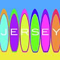 Surfs Up - Jersey by Barefoot Bodeez Art