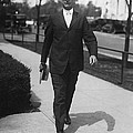 Surgeon General Walks To Work by Underwood Archives
