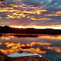 Surise On Lake Powell by Melanie Allington
