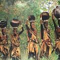 Blaa Kattproduksjoner        Surma Women Of Africa by Sigrid Tune