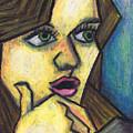 Surprised Girl by Kamil Swiatek