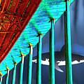 Surreal Bridge Shark Cage by Elaine Plesser