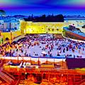 Surreal Jerusalem Art by Ron Fleishman