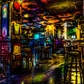 Surreal Old West Bar  by Ron Fleishman