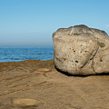 Surreal Rock At Point Loma by Robert VanDerWal