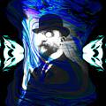 Surreal Satie, The Velvet Gentlemen by Abstract Angel Artist Stephen K