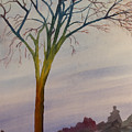 Surreal Tree No. 2 by Debbie Homewood