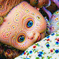 Surreal Trippy Deep Dream Doll by Matthias Hauser