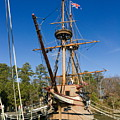 Susan Constant Replica by Sally Weigand