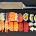 Sushi And Knife by Anastasy Yarmolovich