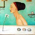 Sushi Lover by Leah Saulnier The Painting Maniac