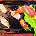 Sushi Plate 2 by Dominic Piperata