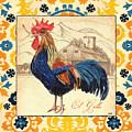 Suzani Rooster 1 by Debbie DeWitt