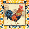 Suzani Rooster 2 by Debbie DeWitt