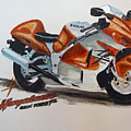 Suzuki Hayabusa by Richard Le Page