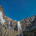 Svartifoss Waterfall, Iceland Black by Panoramic Images