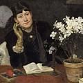 Sven Richard Bergh - The Artist, Julia Beck 1883 by Julia Beck