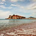 Sveti Stefan Beach by Sophie McAulay