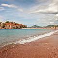 Sveti Stefan Island Iconic Landmark by Sophie McAulay