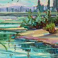 Swallowtail Riverside by Marie Massey