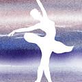 Swan Lake Ballerina Silhouette by Irina Sztukowski