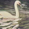 Swan Lake by Suzn Art Memorial
