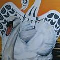 Swan Totem by John Huntsman