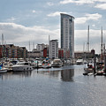 Swansea Marina by Kevin Round