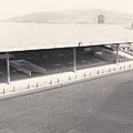 Swansea - Vetch Field - South Stand 1 - Bw - 1960s by Legendary Football Grounds