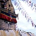 Swayambhunath II by Patrick Klauss