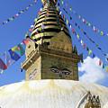 Swayambhunath Temple, Kathmandu by Aidan Moran