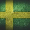 Sweden Distressed Flag Dehner by T Shirts R Us -