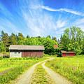 Swedish Barn by James Billings