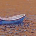 Swedish Boat by Art Nomad Sandra  Hansen
