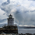 Sweeping Clouds Over Bug Light by Joe Faragalli