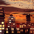Sweet Cityscape  by Floriana Barbu