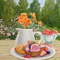 Sweet Garden by Angeles M Pomata