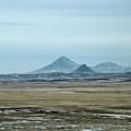 Sweet Grass Hills Pyramids by Tracey Vivar